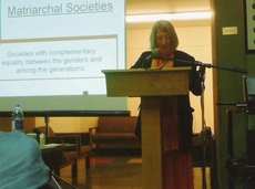 Heide Goettner-Abendroth opens the section on Matriarchal Studies